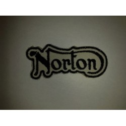 Parche bordado norton