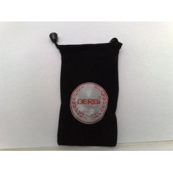 Funda de movil negra logo derbi blanco